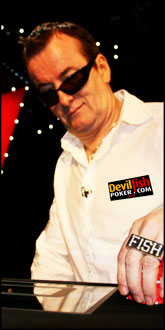 Dave Ulliot aka The Devilfish - Poker Legend Dave Ulliot 102