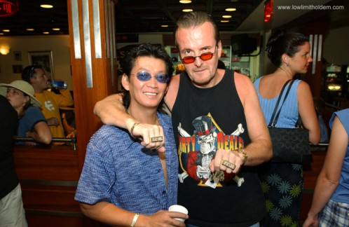 Dave Ulliot aka The Devilfish - Poker Legend Dave Ulliot 103
