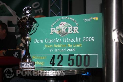 Erwin Barendregt wint re-buy toernooi Dom Classics 101