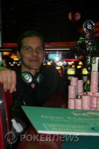 Thijs Wessels wint €105.875,- bij Dom Classics Main Event 103