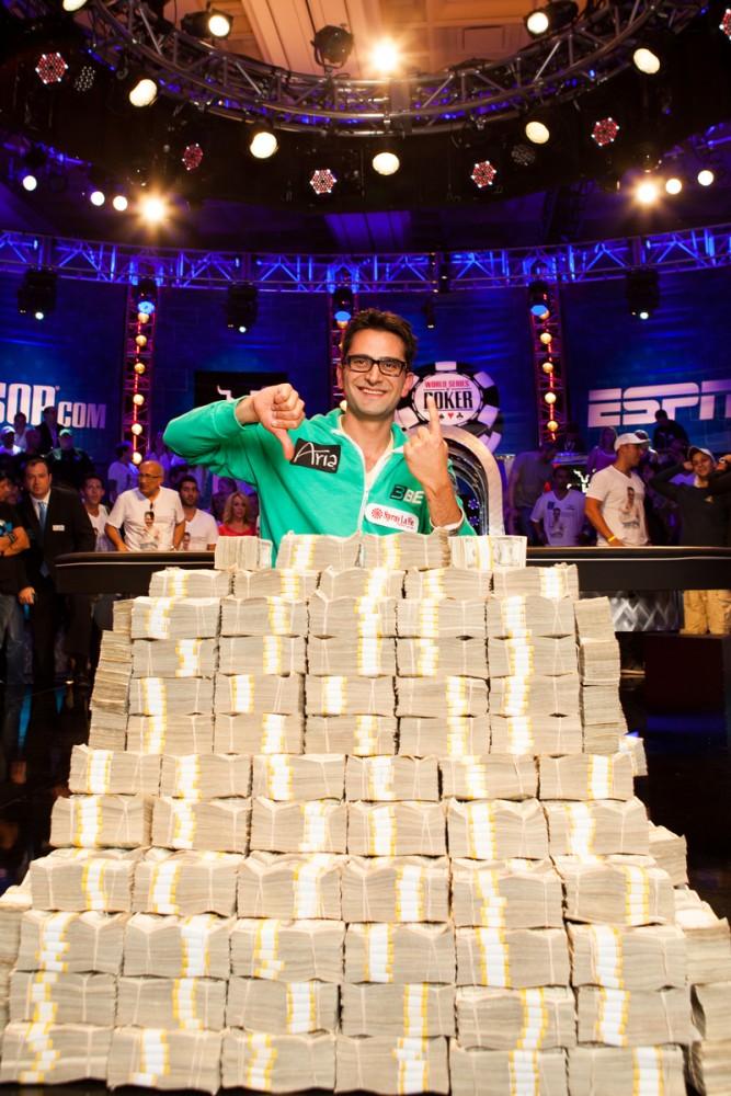 "WSOP Big One for One Drop - Antonio ""The Magician"" Esfandiari wint ,3 miljoen! 106"