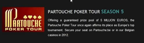 Poranny Kurier: Skandal na Partouche, Wzrost ruchu w poker roomach i więcej 101