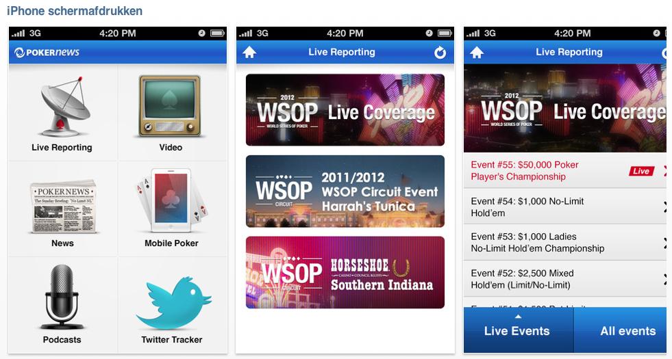 Poker news app