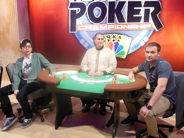 NBC National Heads-Up Poker Championship -- Round of 32 & 16 109