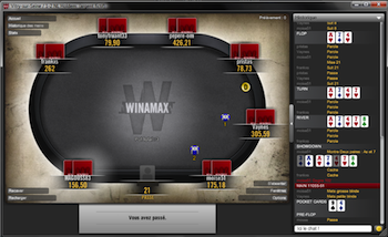 Seven Weekly Winamax €1,000 Freerolls Remain; No Deposit Required! 101