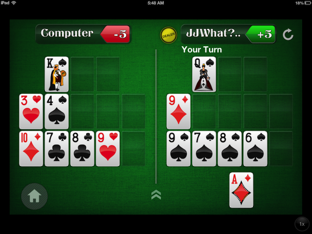 How Much Luck and Skill/Edge Exists in a Game of Open-Face Chinese Poker? Part II 102