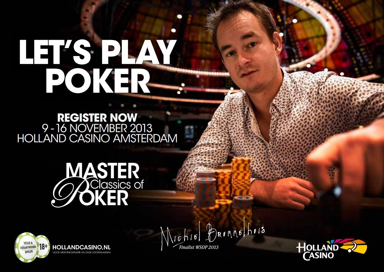Holland casino pokertoernooi amsterdam