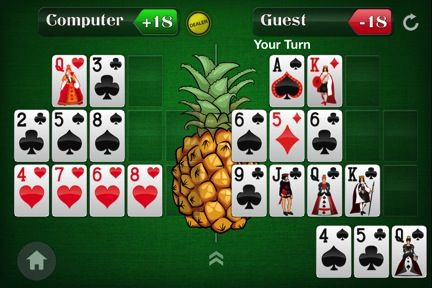 Spice Up Your Open-Face Chinese Poker Game by Adding a Pineapple Twist 104