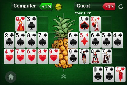 Spice Up Your Open-Face Chinese Poker Game by Adding a Pineapple Twist 105