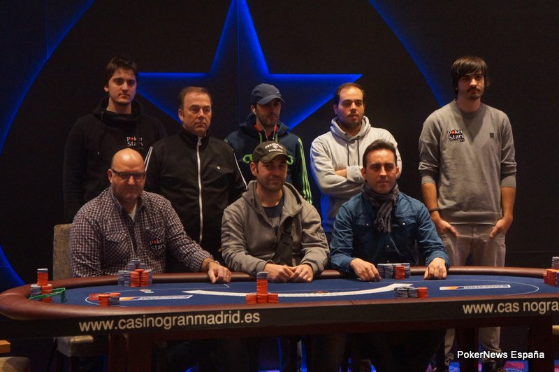 Estrellas Póker Tour de Madrid día 4: Víctor Antoranz se corona 101