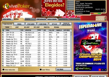VivePoker llega a PokerNews con un bono de 1.000€ y un freeroll exclusivo para jugar en... 101
