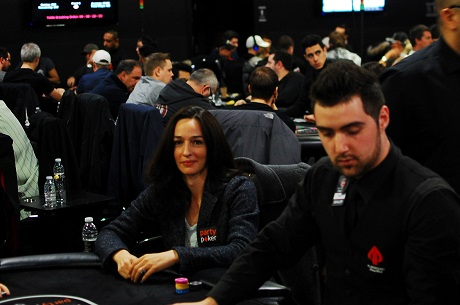 Day 1b of partypoker WPT Canadian Spring Championship 105
