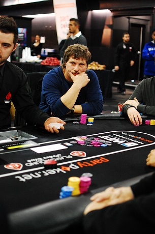 Day 2 of partypoker WPT Canadian Spring Championship 106