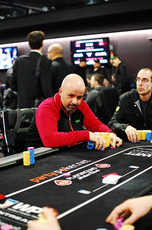 Day 2 of partypoker WPT Canadian Spring Championship 105