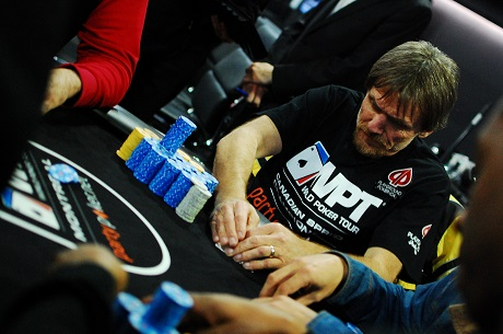Day 2 of partypoker WPT Canadian Spring Championship 102