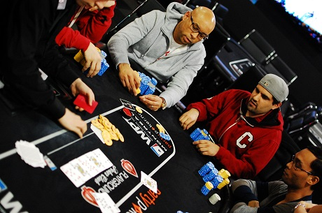 Day 2 of partypoker WPT Canadian Spring Championship 101