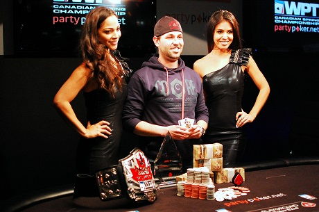 Jason Comtois Wins partypoker WPT Canadian Spring Championship 101