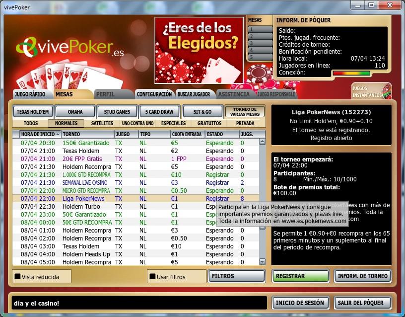 Formato KO esta noche en la Liga VivePoker PokerNews 101