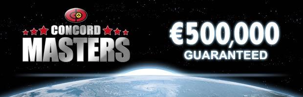 Zakwalifikuj się do €500,000 Concord Masters Main Event na William Hill! 101
