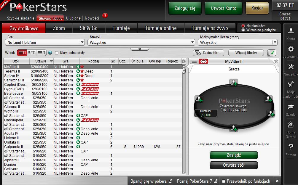 Nowe oprogramowanie PokerStars Alpha 7 - szykują się wielkie zmiany! 101