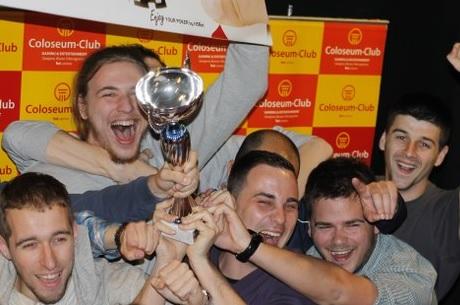 Milan Dondur je Pobednik NSBet Sarajevo Poker Vikenda Posle Podele Nagrada sa Markom Lukša... 101