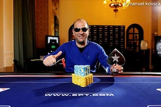Finger One of Many Players to Capture PokerStars.it EPT10 Sanremo Side Event Titles 107