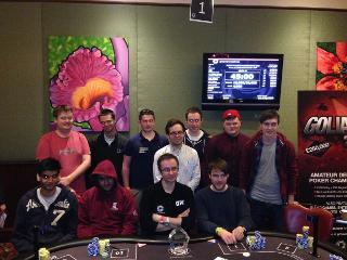 2014 UK Student Poker Championship Main Event final table