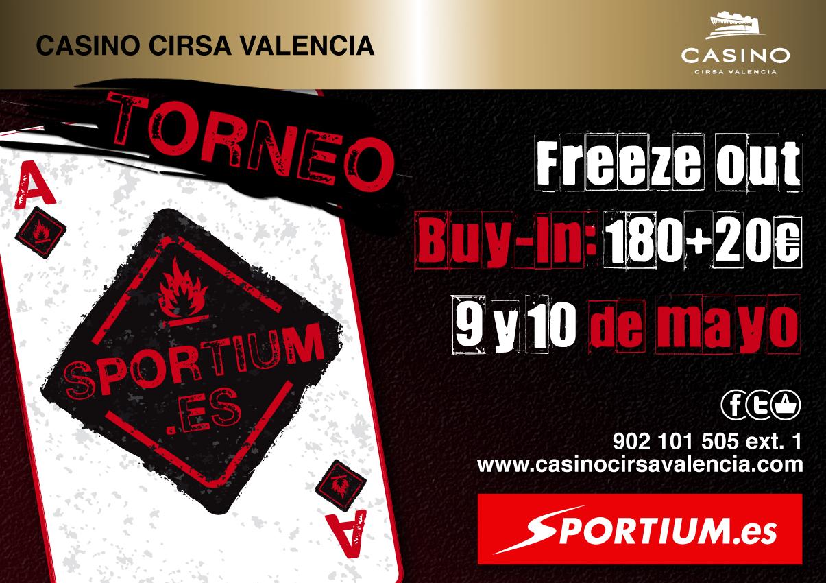 Sportium presenta su Torneo Mensual en el Casino Cirsa de Valencia 101