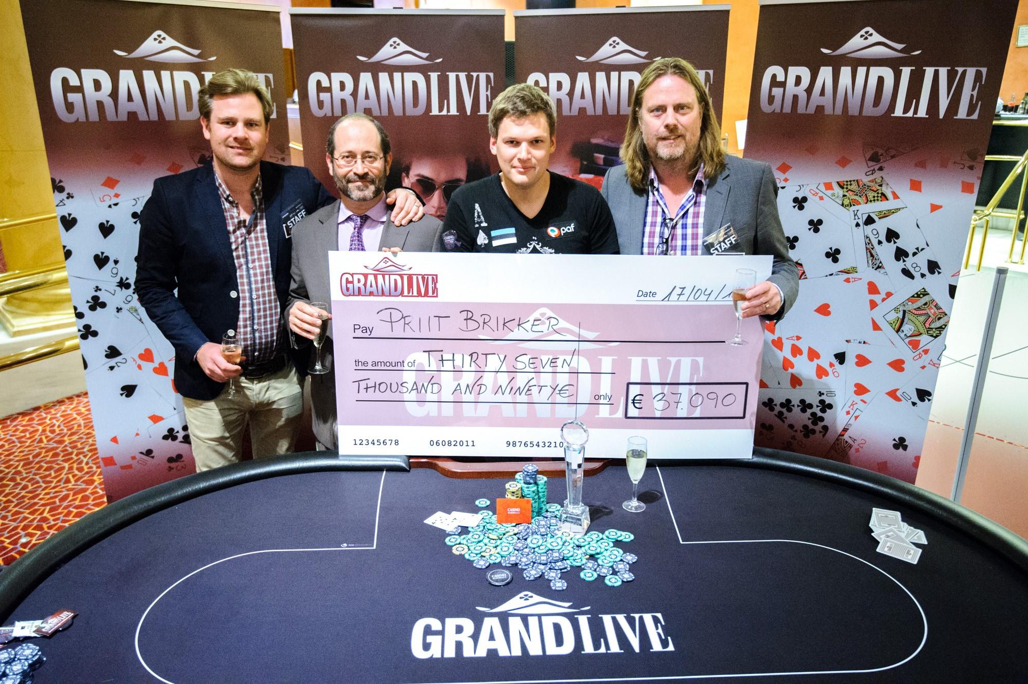 Priit Brikker teenis Grand Live Marbella võiduga 37 090 eurot! 101