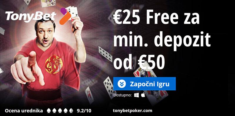 Poker Bonus za nove depozite