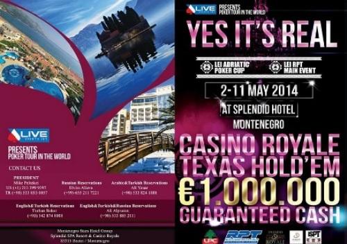 Live Events Int.& Royale Casino Splendid Poker Festival 101