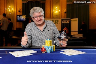 Finger One of Many Players to Capture PokerStars.it EPT10 Sanremo Side Event Titles 110
