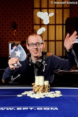 Finger One of Many Players to Capture PokerStars.it EPT10 Sanremo Side Event Titles 109