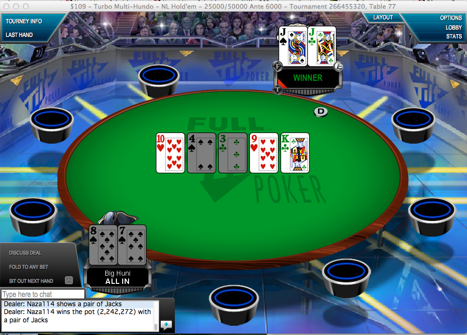 Naza114 Vence Turbo Multi Hundo & MaXiOwnS foi 2º no 0k Guarantee 101