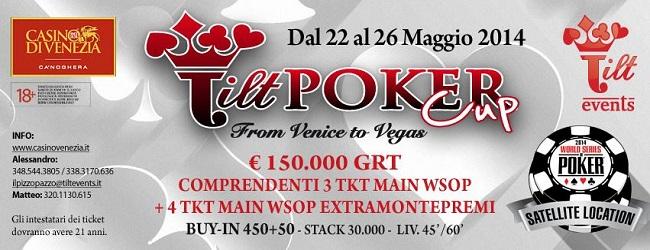 "Tilt Poker Cup ""From Venice To Vegas"": vola al Main Event WSOP 2014! 101"