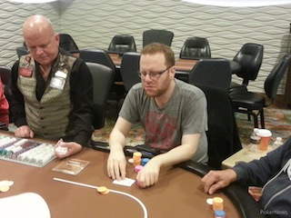 2014 MSPT FireKeepers Casino Day 1b: Carter Myers Leads as 24 of 127 Advance 101