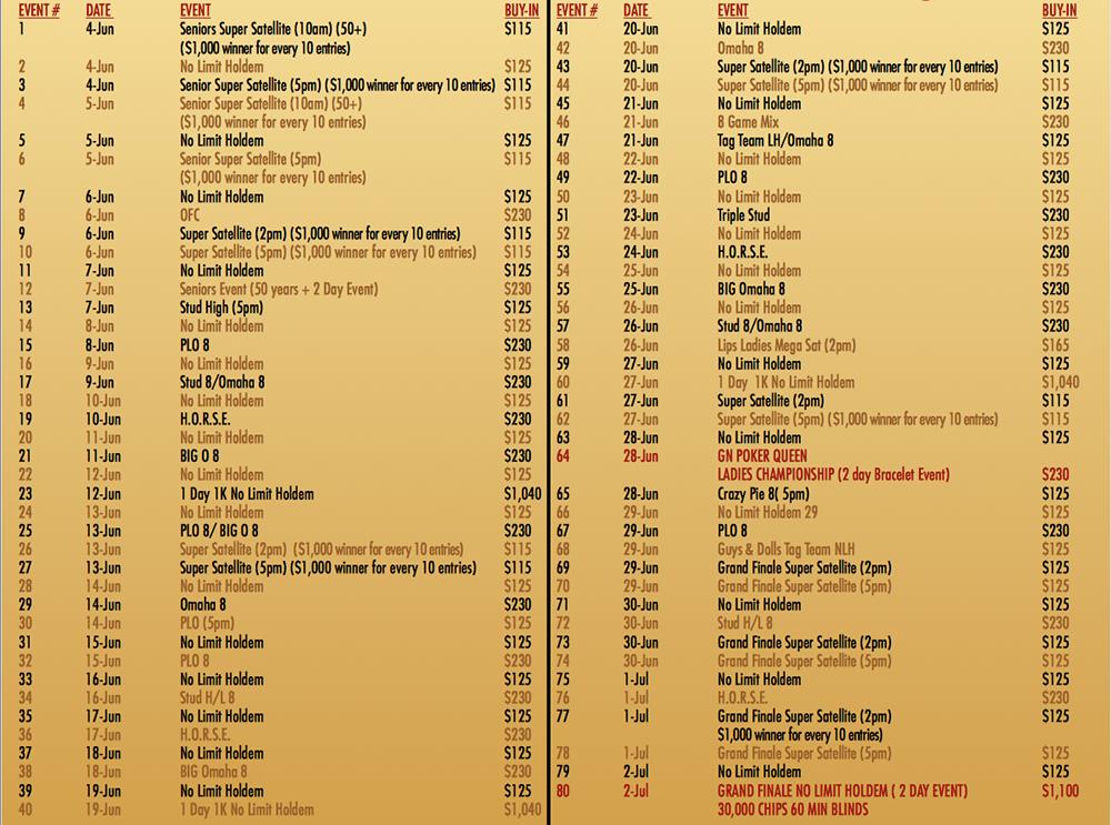 Poker em Down Town Las Vegas - Golden Nugget Grand Poker Series & PPC Golden Nugget Desert... 101