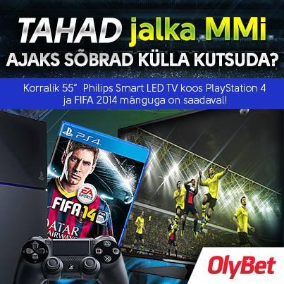OlyBet: Loosis jalgpalli MM varustus, täna Beat the PRO turniir, MPN Poker Tour... 101