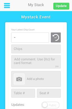 ¡Nuevas características en la app MyStack de PokerNews! 102
