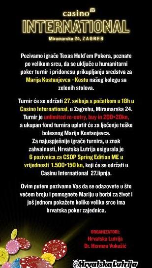 Humanitarni Poker Turnir u Zagrebu! 102