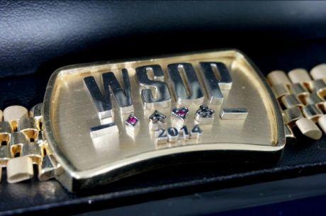 WSOP 2014 bracelet