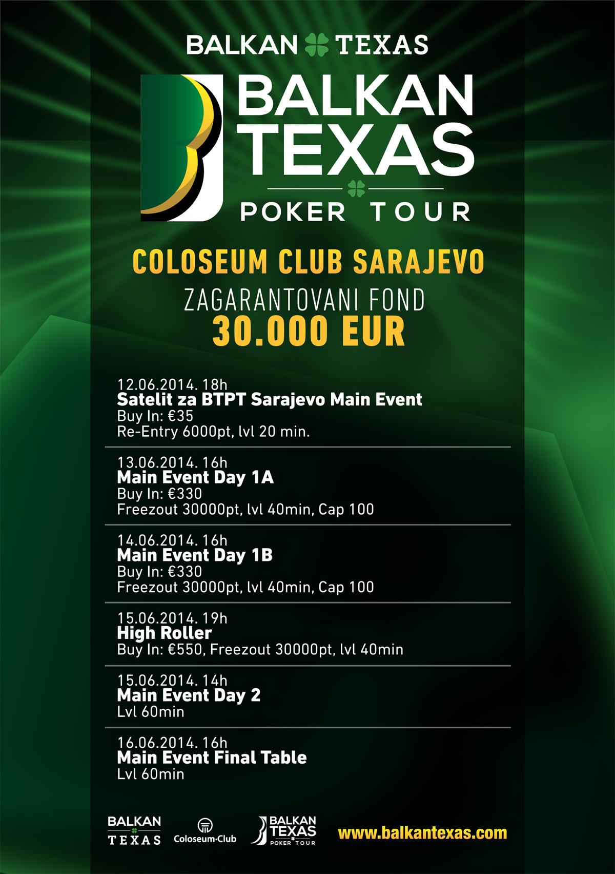 raspored turnira BTPT
