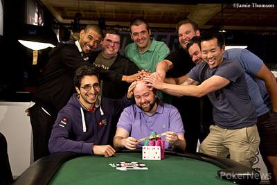WSOP día 8: Jonathan Dimmig alcanza la gloria 102