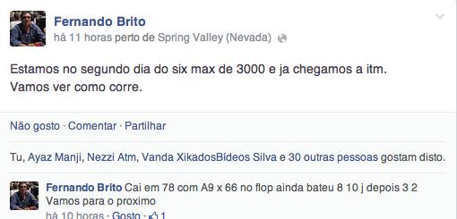 Fernando Brito ITM;Hellmuth na Luta pela 14ª Bracelete & Mais 101