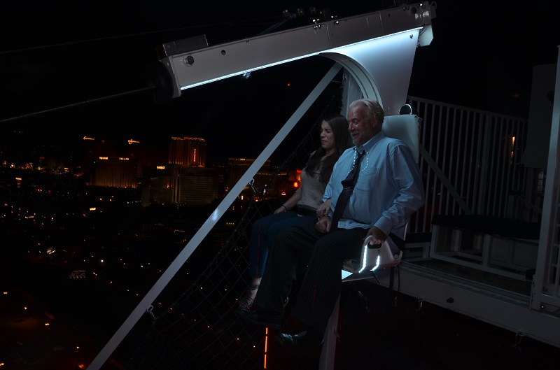VIDEO: Nolan Dalla Rides the VooDoo Zip Line in Las Vegas 102