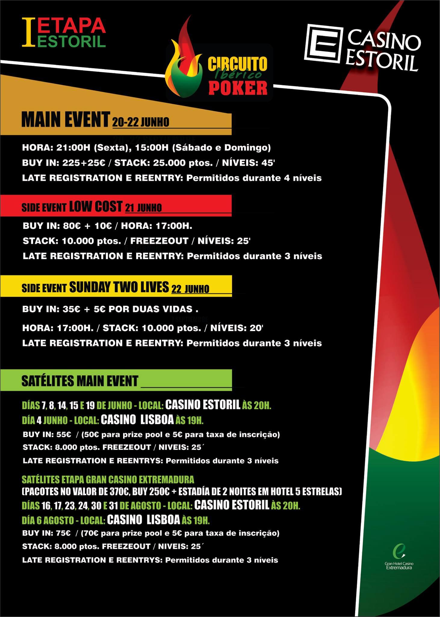 Etapa 1 do Circuito Ibérico de Poker no Casino do Estoril de 20 a 22 de Junho 101