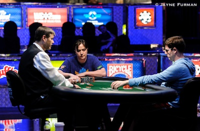 2014 World Series of Poker Day 28: Mercier Grabs K PPC Lead; Morgan, McNiff Continue Epic... 101