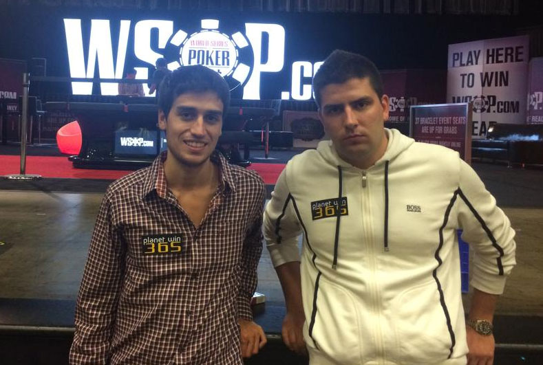 Team mates Luca Moschitta & Vladimir Bozinovic @MonsterStack