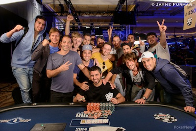 Día 35 WSOP 2014: Big One for One Drop se detiene antes de la burbuja; Pingray, Moshe ganan... 102