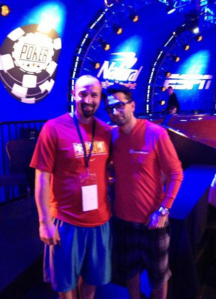 Rene Rajković & The Magician @WSOP